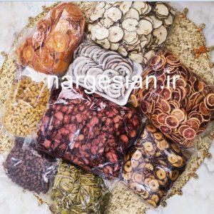 محصولات میوه خشک
